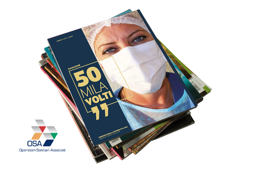 50MILA VOLTI Magazine, un'edizione speciale Covid