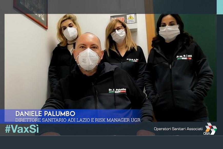 #VaxSì, intervista a Daniele Palumbo