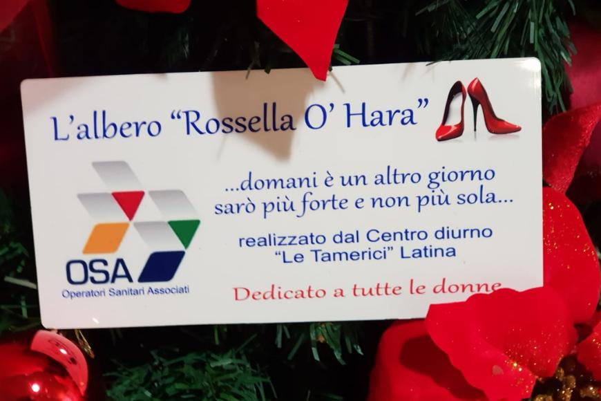 Storia dell'albero Rossella O'Hara donato da Le Tamerici a Latina