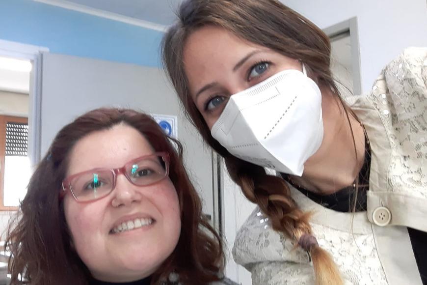 Annalucia e Maura, un'amicizia più forte della malattia