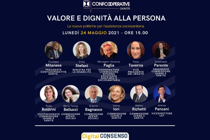 Valore e dignità alla persona, il Digital Debate con il presidente Milanese