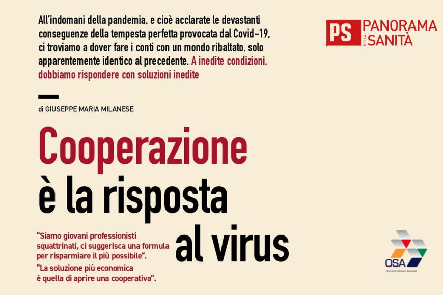 Cooperazione è la risposta al virus