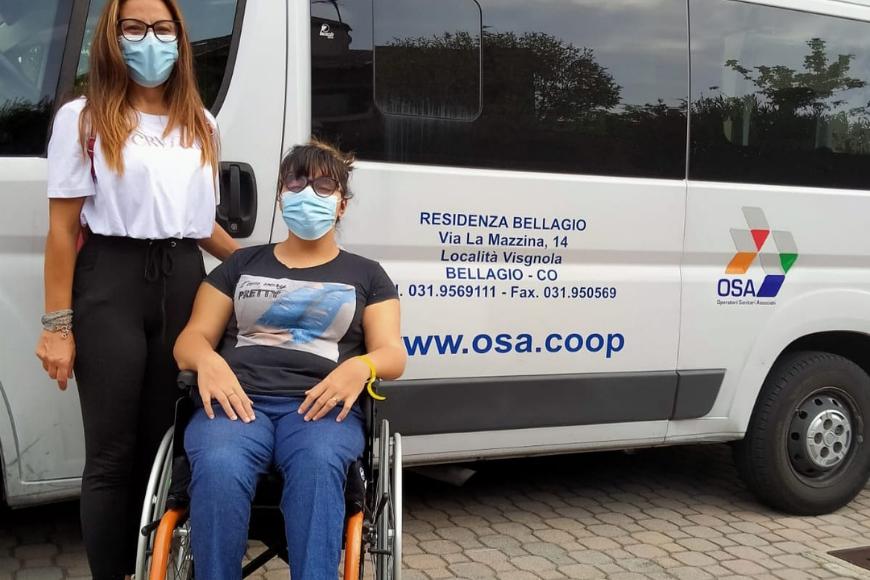 Storia di Alessandra, sostenuta da OSA nel suo viaggio a Milano verso la speranza